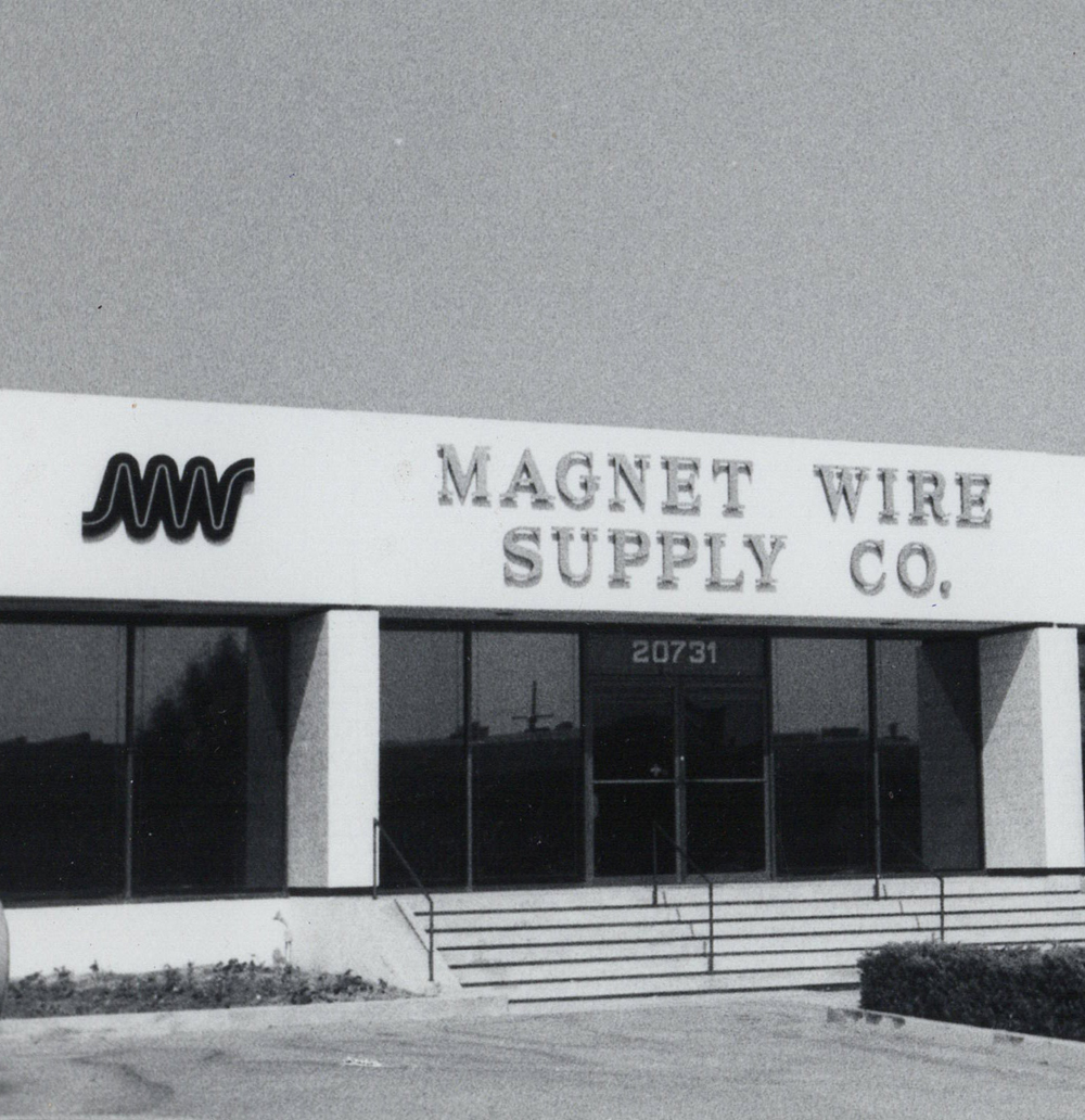 Magnet Wire Supply (MWS) on Marilla St in 1974
