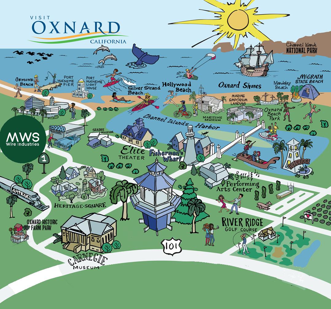 Oxnard Map
