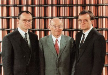 The Elektrisola History - 1993 Change Managment